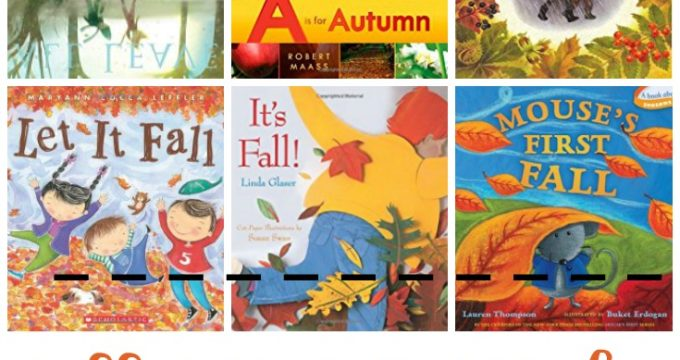 Fall and Autumn Books for Tots and Preschoolers