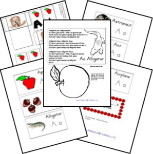 FREE Alphabet Lapbook for Preschoolers