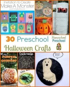 30 Preschool Halloween Craft Ideas