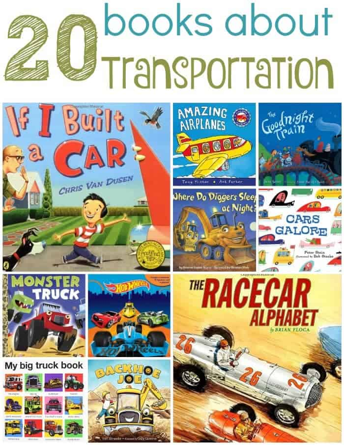 Fans of cars and trucks will love these books about transportation! | homeschoolpreschool.net