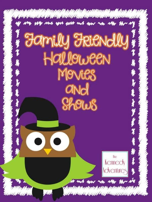 Family-Friendly Halloween Movies and Shows