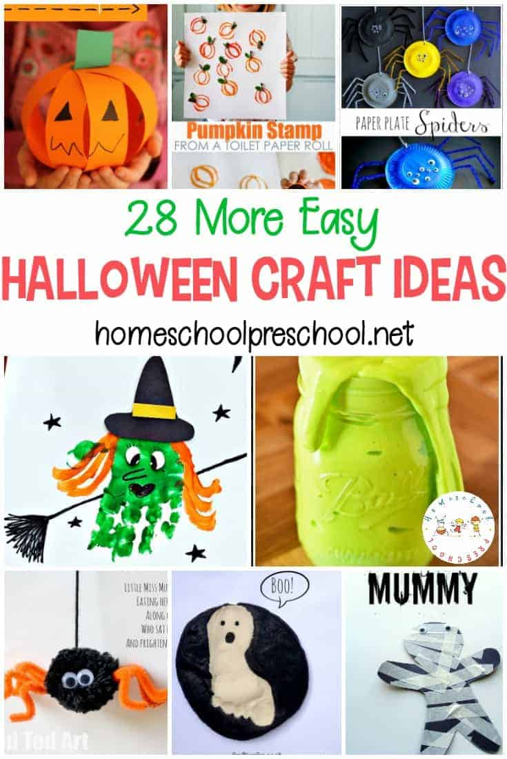 Check out this fun list of Halloween craft ideas that your little one is sure to love. Many of these crafts use items you already have in your house.