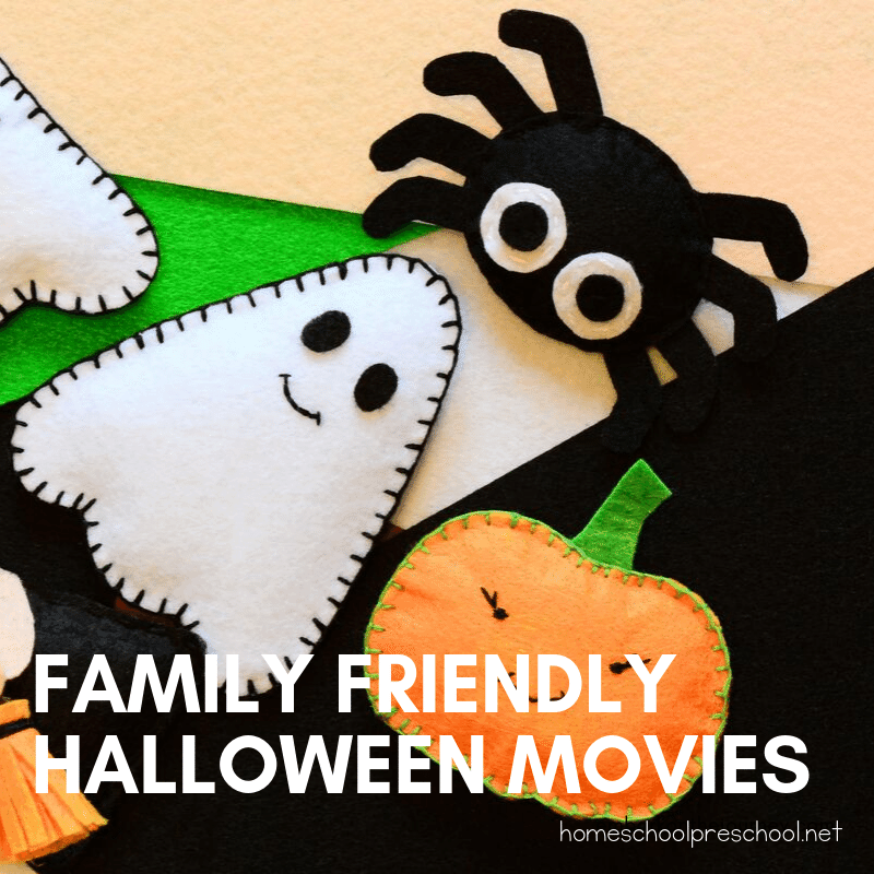 These family-friendly Halloween movies are perfect for kids of all ages! Kids will love seeing how their favorite characters celebrate Halloween.