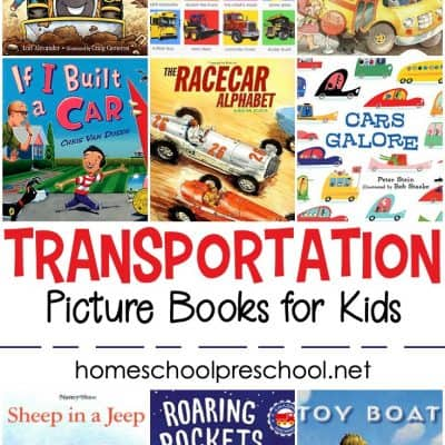 Transportation Books for Preschoolers