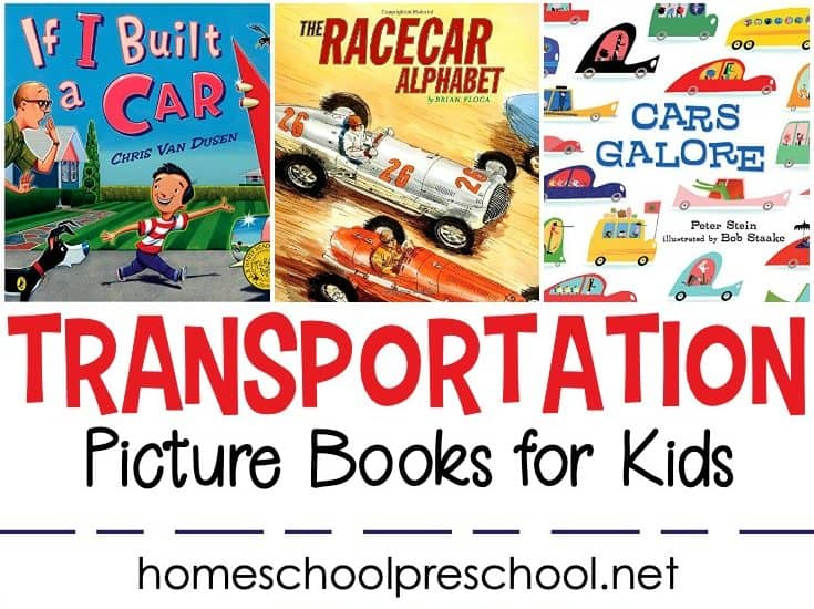If your little ones are obsessed with planes, trains, and other automobiles, you don't want to miss this collection of our favoritetransportation books for preschoolers!
