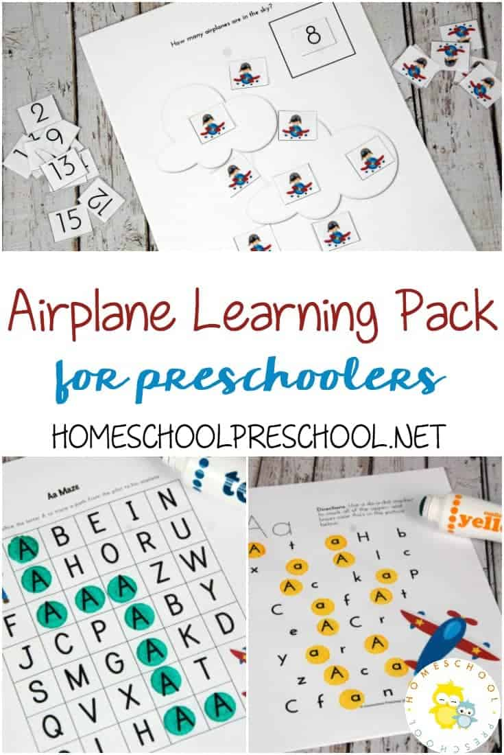 These airplane activities for kids are perfect for kids who love airplanes and for families who are planning to fly with young children.