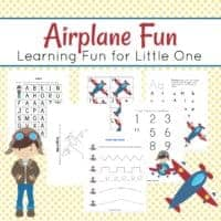 Printable Airplane Activities for Kids