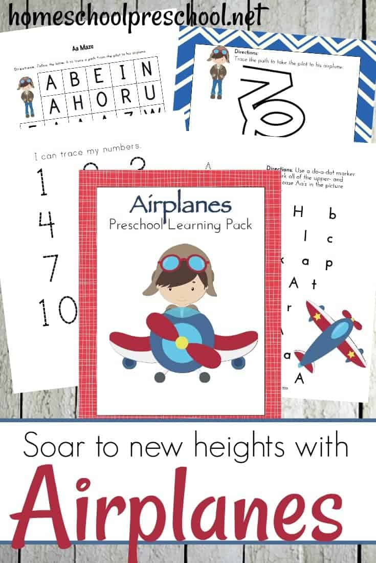 These airplane activities for kids are perfect for kids who love airplanes or even families who are planning to fly with young children.