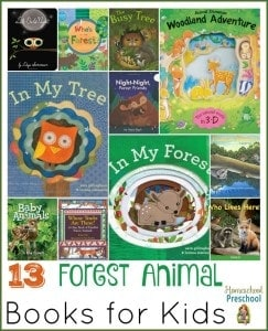 13 Forest Animal Books for Kids