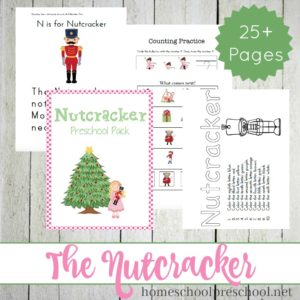 Nutcracker Preschool Learning Pack and Activities