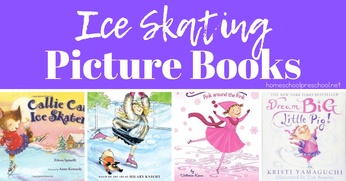 Winter is almost here! It's the perfect time to snuggle up and read with your little ones. How about reading some ice skating books? Here's a fun list!