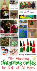 If you're looking for something fun for your preschoolers to do this holiday season, I've got the perfect list for you! These Christmas crafts and activities are the perfect way to entertain your little ones through the month of December. | homeschoolpreschool.net