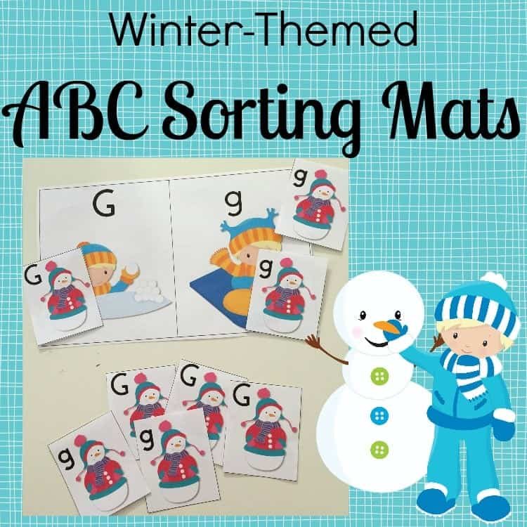 ABC Sorting Mats SQUARE