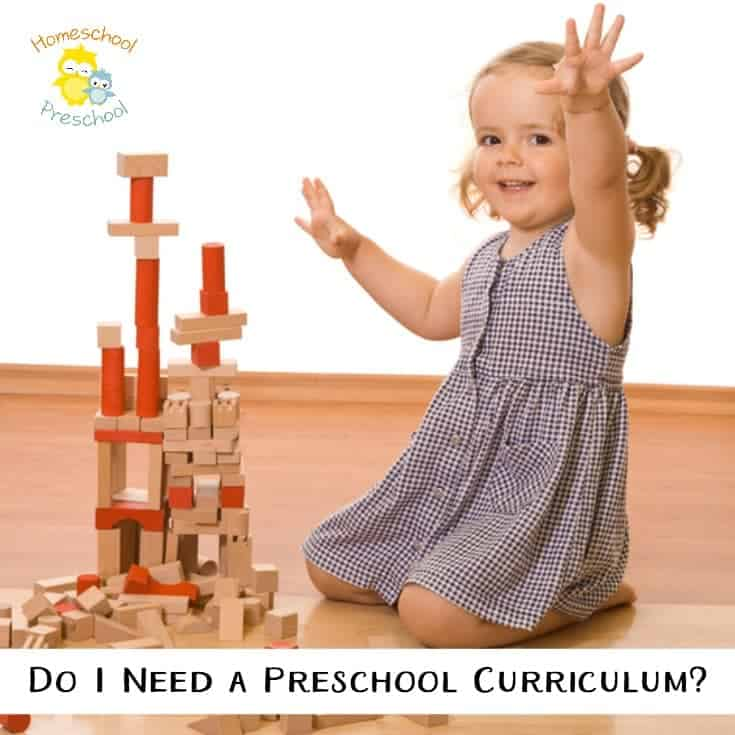 Do I Need a Preschool Curriculum?