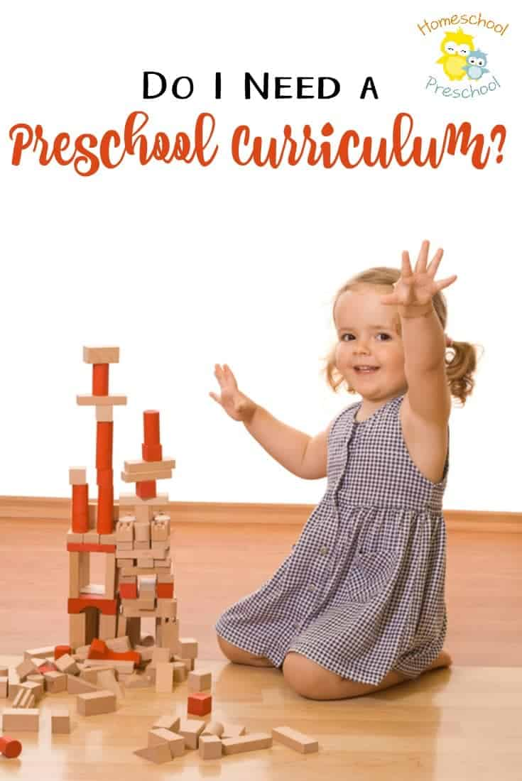 Many homeschool moms are intimidated by preschool. They often feel as if they aren't doing enough? Do they need a curriculum? The short answer is... | homeschoolpreschool.net
