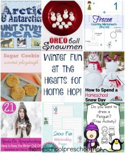 Winter Fun and the Hearts for Home Blog Hop {Link Up 102}