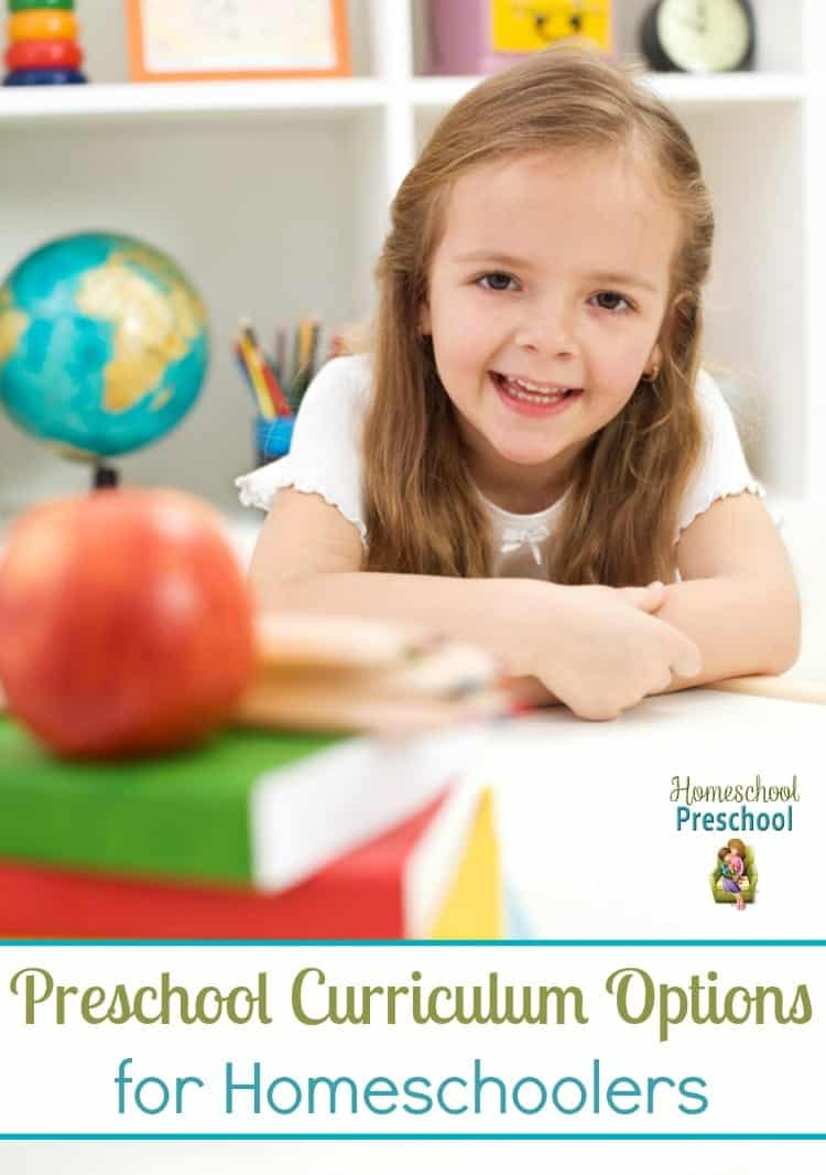 Looking for a curriculum to use with your preschooler? Here are five fun options for teaching your 2-5 year olds at home. | homeschoolpreschool.net
