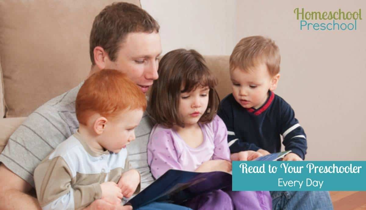 5 Reasons to Read to Your Preschooler Every Day