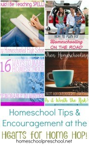 Homeschool Encouragement {Link Up #101}