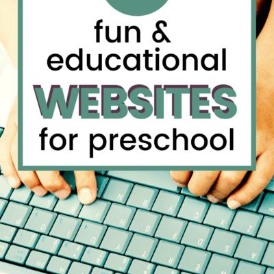8 Websites for Preschoolers