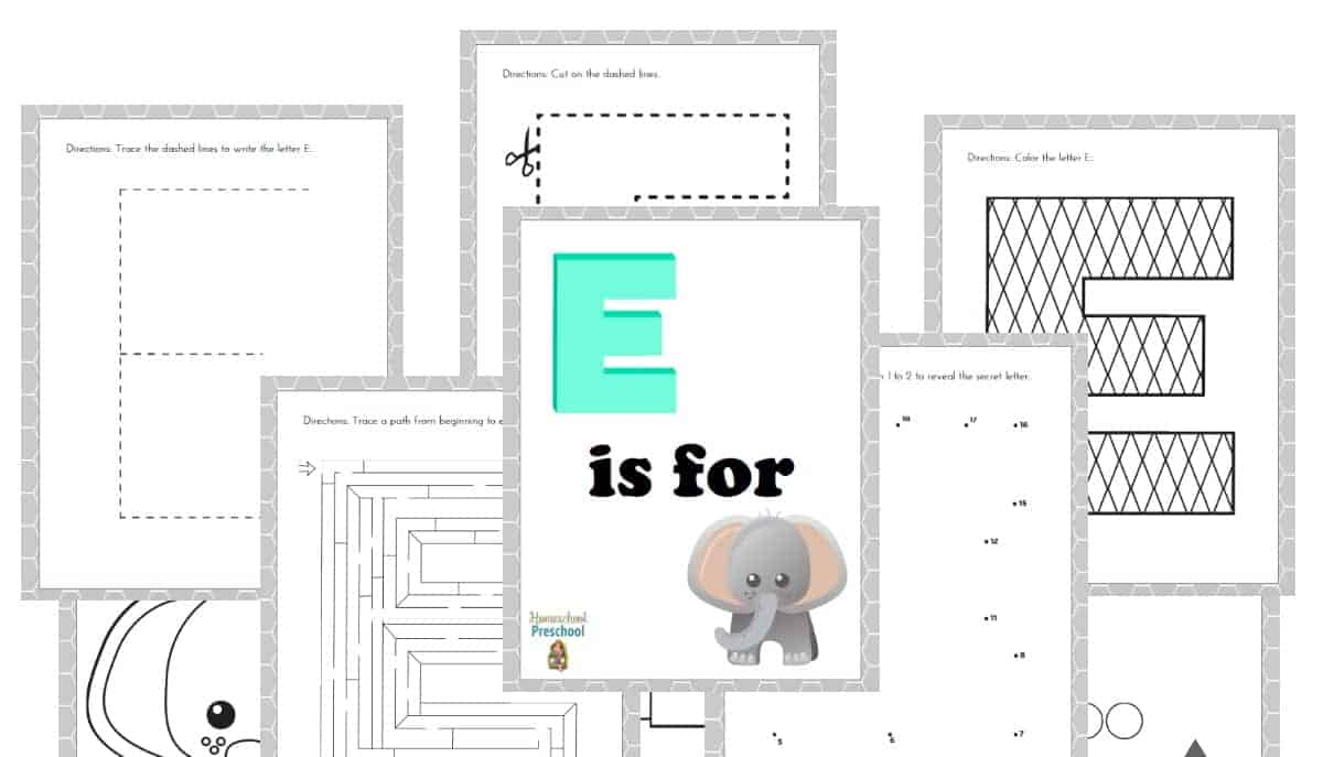 elmer inspired mosaic art and free printable