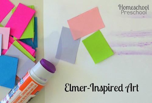 Elmer-Inspired Art