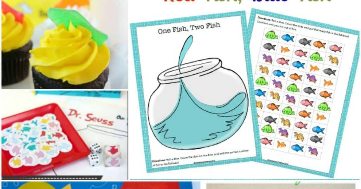 15 Hands On One Fish Two Fish Activities For Preschoolers