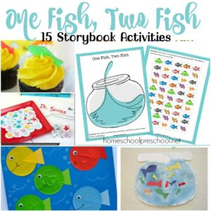 15 One Fish Two Fish Hands-On Activities for Preschoolers