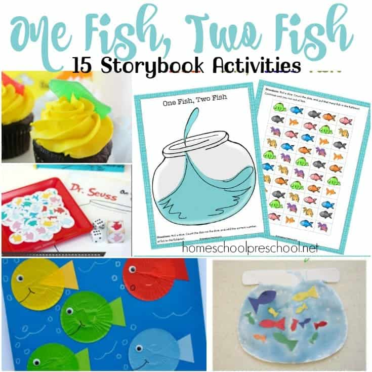 15 Hands-On One Fish Two Fish Activities for Kids
