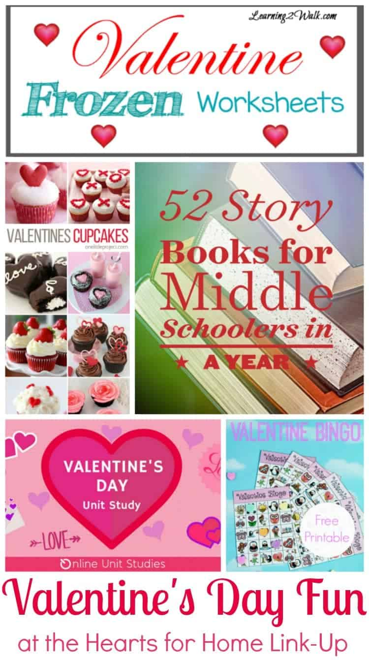 Come find some new Valentine's Day ideas at this week's Hearts for Home Blog Hop. | preschoolhomeschool.net