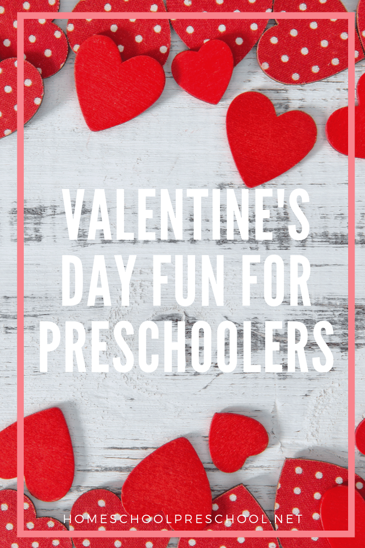 Valentines Day fun for preschoolers! Hands-on, educational activities that will engage and inspire your preschoolers this holiday season!