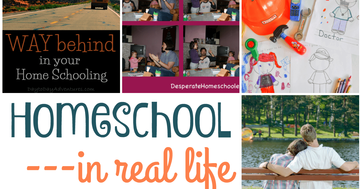 Homeschool in Real Life {Hearts for Home Link Up}