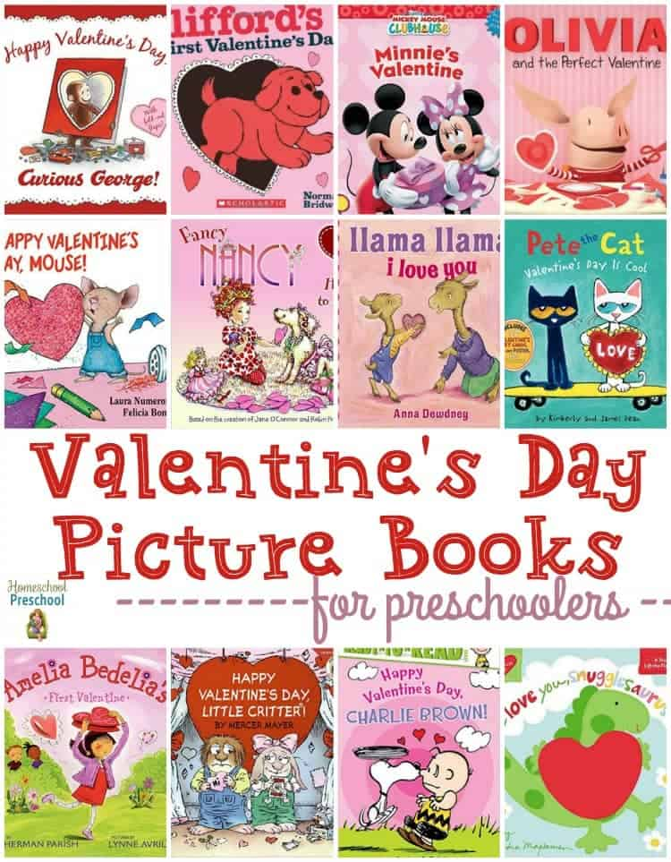 Snuggle up with your little love bug and read these fun Valentine's Day picture books! | homeschoolpreschool.net