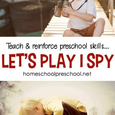 Teach Preschool Skills with I Spy Games for Kids