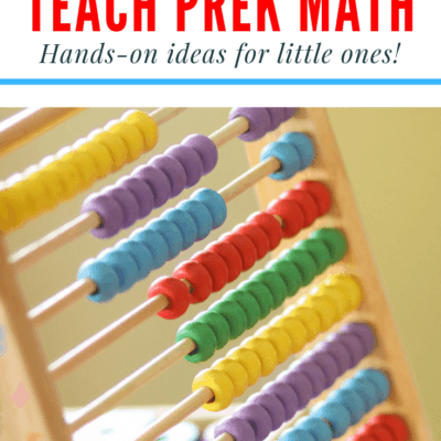 5 Fun Ways to Teach Preschool Math