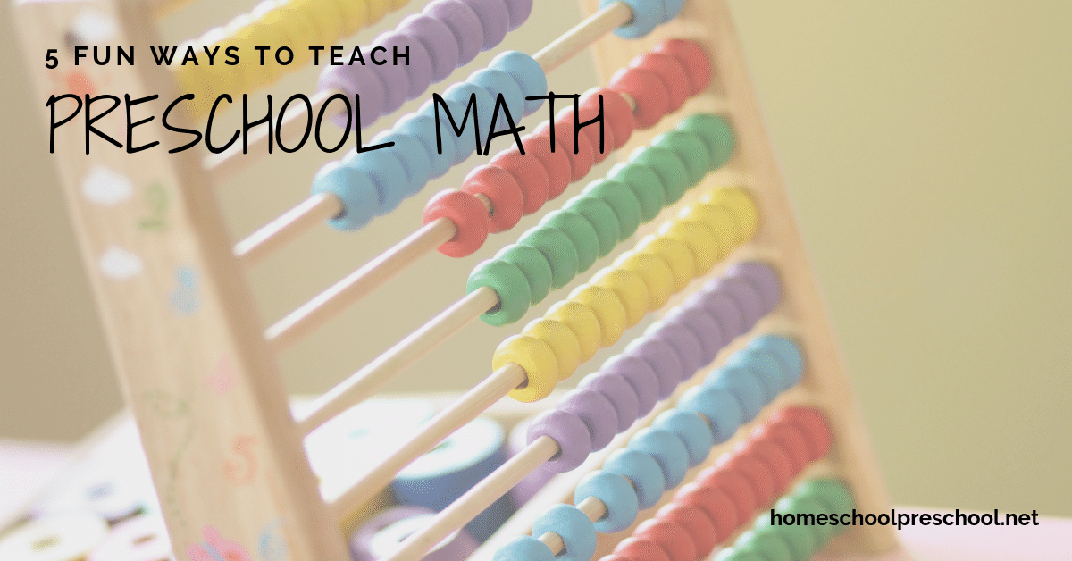 Here are five fun ways to teach preschool math to your child. These hands-on activities are sure to engage your little ones!