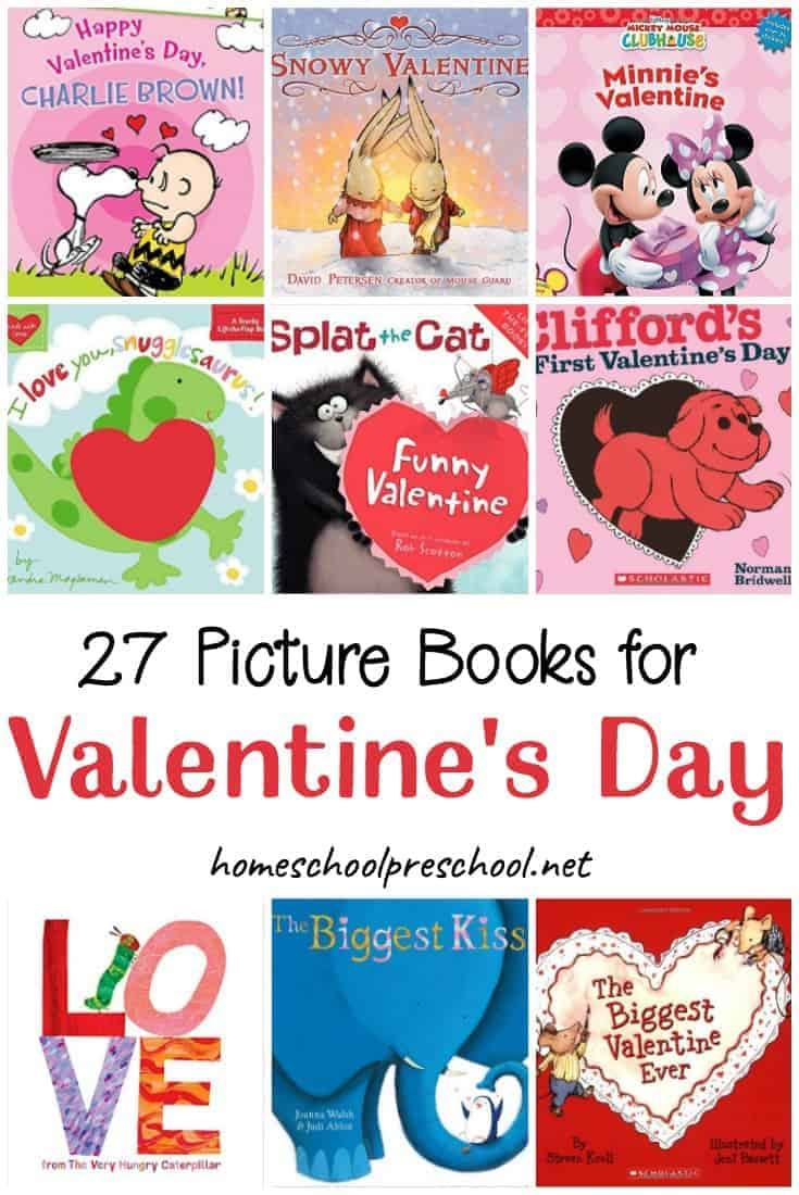 This Valentine's Day, snuggle up with your preschoolers and read one or more of these Valentines books! There are lots of fun picture books to discover on this list!