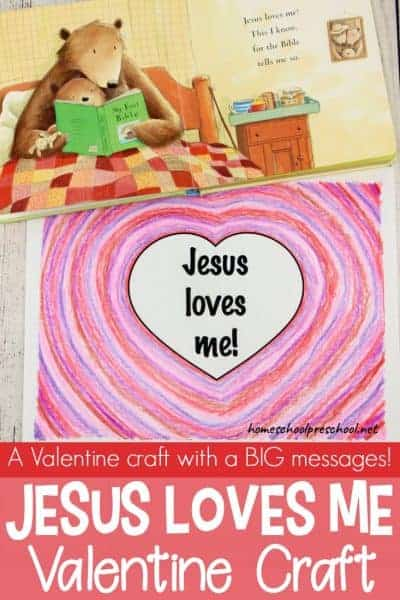 This simple Valentines craft is quick and easy, but it has a BIG message! Download the free printable, and let your little ones create a one-of-kind message.