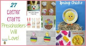 27 Easy Easter Crafts for Preschoolers