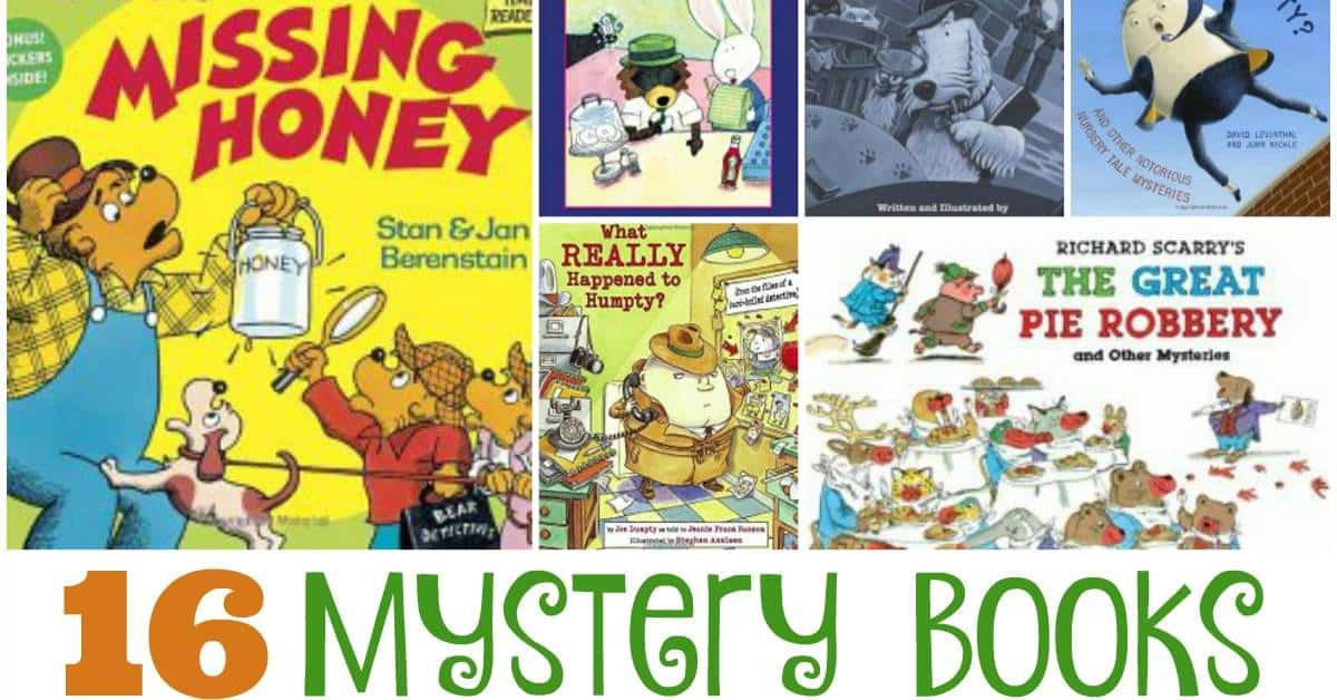 16 Mystery Books for Early Readers