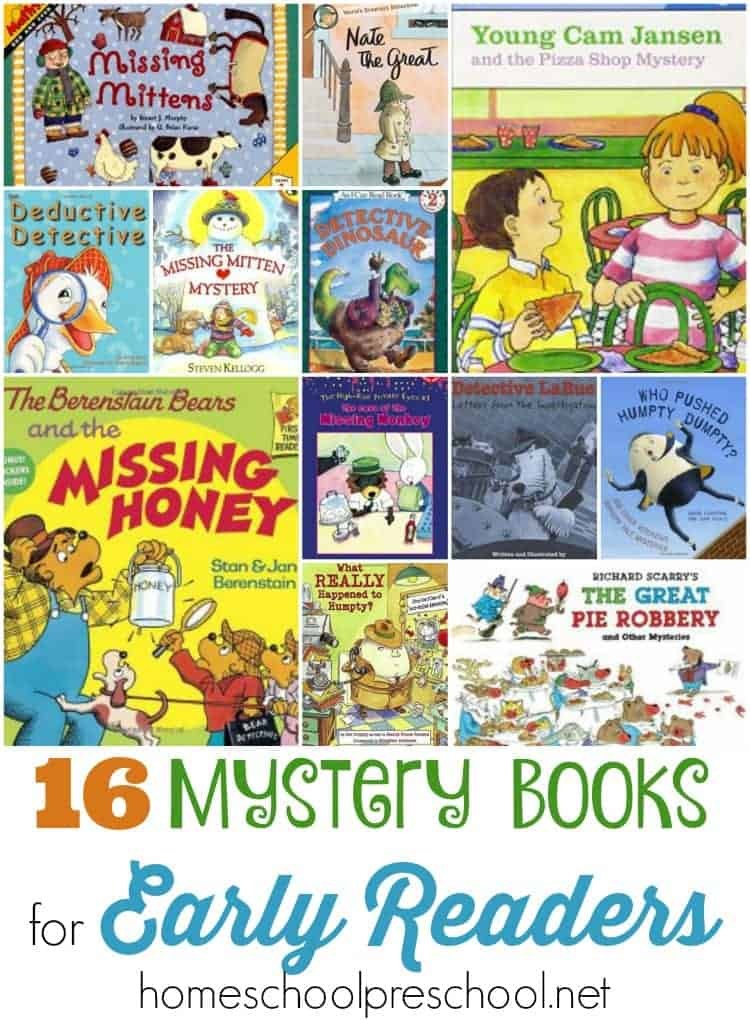 Finding a good book for kids can be quite a challenge. However, there's no mystery here! These whodunits are sure to keep your early readers entertained! | homeschoolpreschool.net
