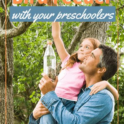 Simple Bird Feeders for Preschoolers