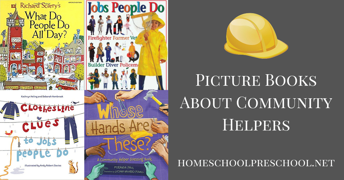 Learning about community helpers is fun! Engage preschoolers with these 15 awesome books about community helpers. Perfect read-alouds for school or home!