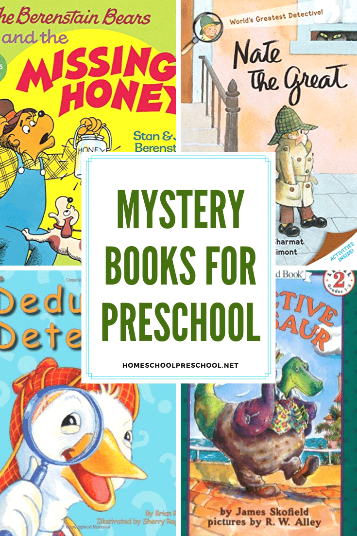 Finding a good book for kids can be quite a challenge. However, there's no mystery here! These mystery books for preschoolers are sure to keep them entertained!