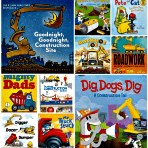 20 of the Best Construction Site Books for Kids