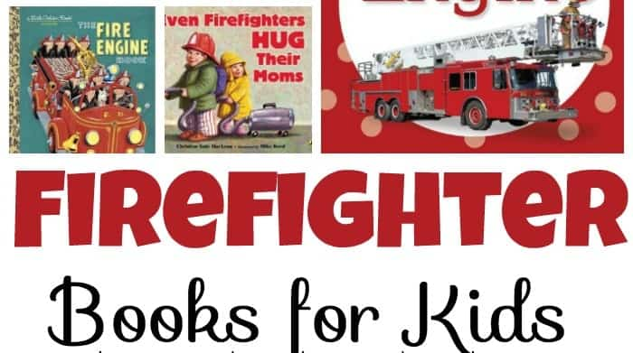 You'll save the day when you fill your book basket with these firefighter books for kids! | homeschoolpreschool.net