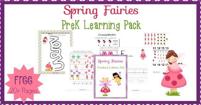 Print - Spring Fairies