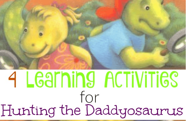 4 Learning Activities for Hunting the Daddyosaurus