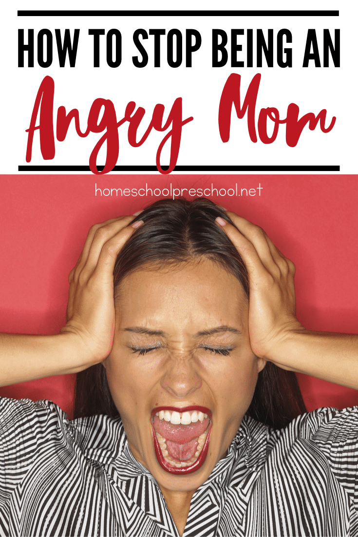 Tired of being angry? I am! I'm tired of looking in their eyes after I've yelled - again - seeing the hurt I've caused. How can we stop being an angry mom?