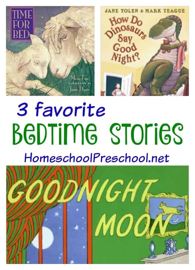 3 Favorite Bedtime Stories for Preschoolers a Feature on The Cozy Reading Spot